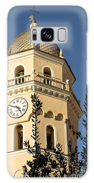 Bell Tower Of Vernazza Galaxy Case