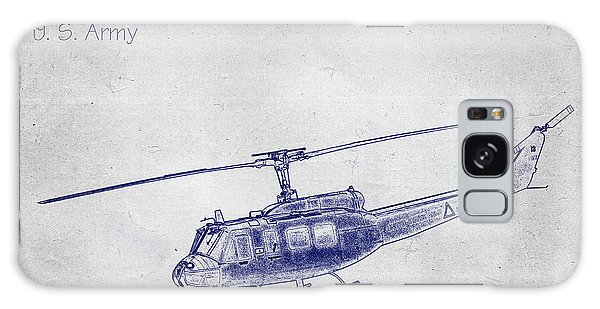 Bell Uh-1h Huey Helicopter  Galaxy Case