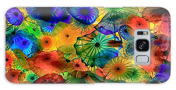 Bellagio Flowers Galaxy Case