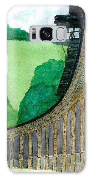 Bellaire Train Viaduct Galaxy Case