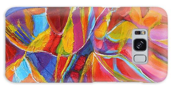 Abstract People Galaxy Case - Belle Dancers by Cynthia McLean