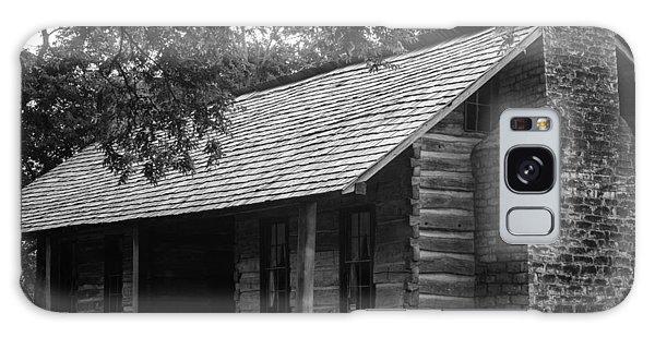 Belle Meade Log Cabin Galaxy Case by Robert Hebert