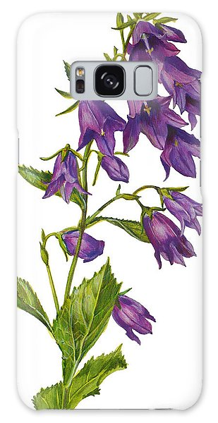 Bellflower - Campanula Galaxy Case