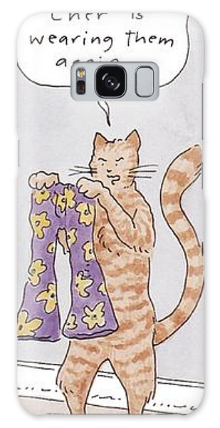 Belling The Cat 'well Galaxy Case
