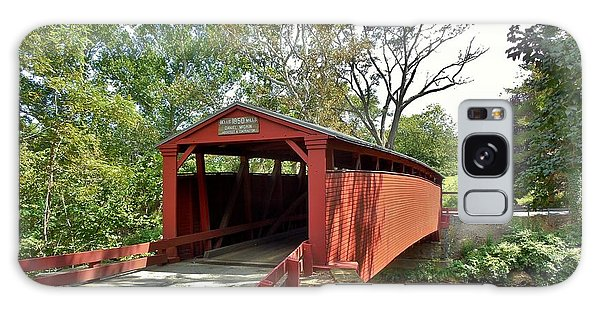 Bells Mills Covered Bridge Galaxy Case by Anthony Thomas