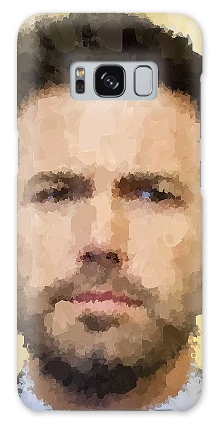 Ben Affleck Portrait Galaxy Case