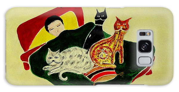 Ben And The Cats Galaxy Case