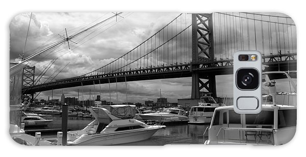 Ben Franklin Bridge Galaxy Case