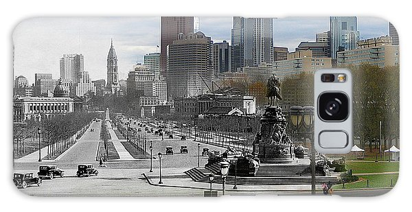 Ben Franklin Parkway Galaxy Case