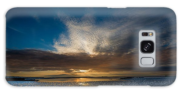Benbecula Sunset Galaxy Case