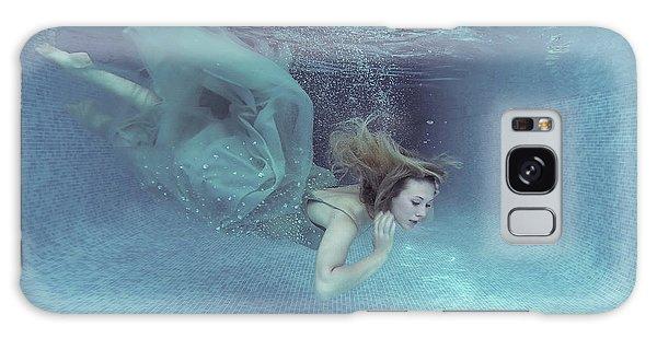 Dress Galaxy Case - Beneath The Blue by Karen Jones