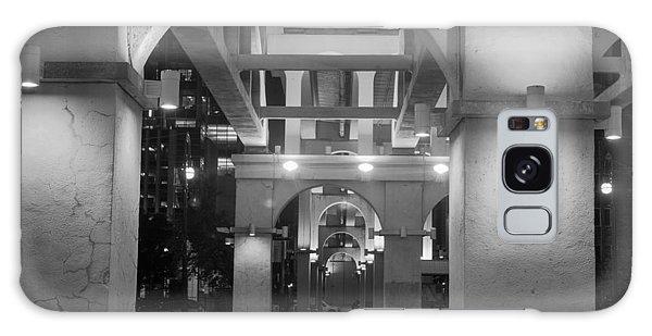 Beneath The Bridge At Night Galaxy Case by Robert Hebert