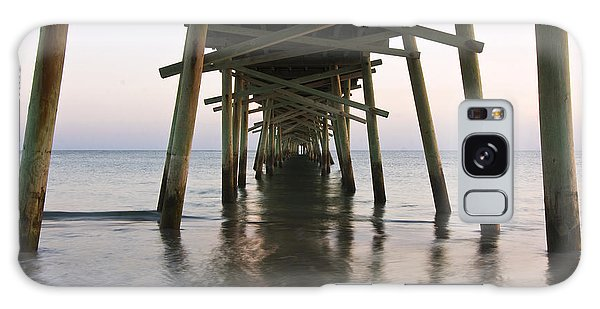 Beneath The Pier A Coastal Scenic Galaxy Case