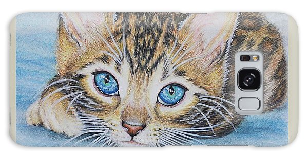 Bengal Kitten Galaxy Case by Jane Girardot
