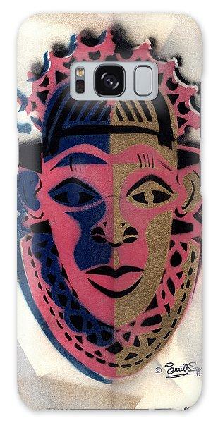 Benin Mask Galaxy Case by Everett Spruill