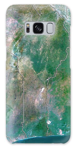 Nigeria Galaxy Case - Benin by Planetobserver/science Photo Library