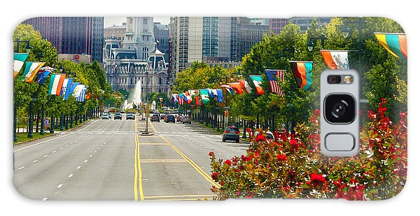 Benjamin Franklin Parkway  Galaxy Case