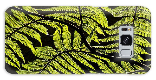 Bent Fern Galaxy Case