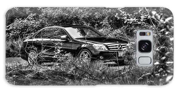 Benz On A Photo Shoot Galaxy Case