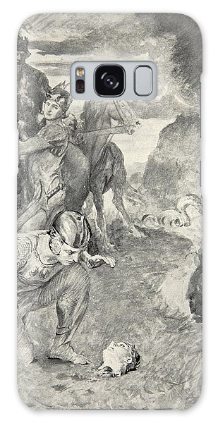 Folklore Galaxy Case - Beowulf Finds The Head Of Aschere by John Henry Frederick Bacon