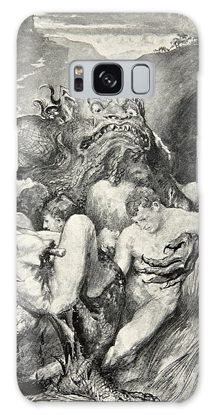 Folklore Galaxy Case - Beowulf Print by John Henry Frederick Bacon