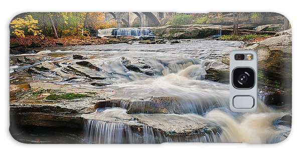 Berea Waterfalls In Autumn Galaxy Case