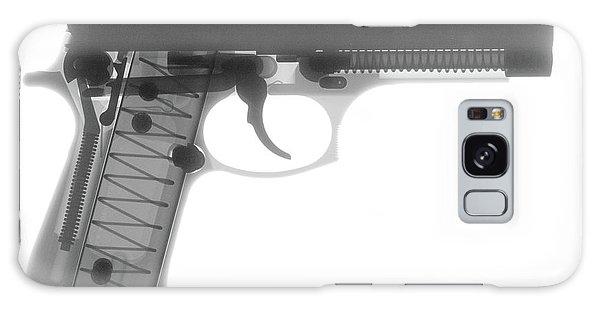 Calico M100 Galaxy Case - Beretta 9mm X-ray Photograph by Ray Gunz