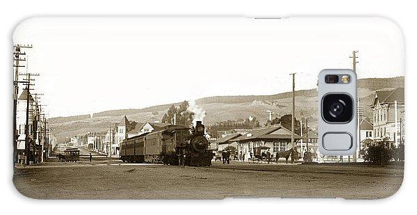 Berkeley California Train Station Circa 1902 Galaxy Case
