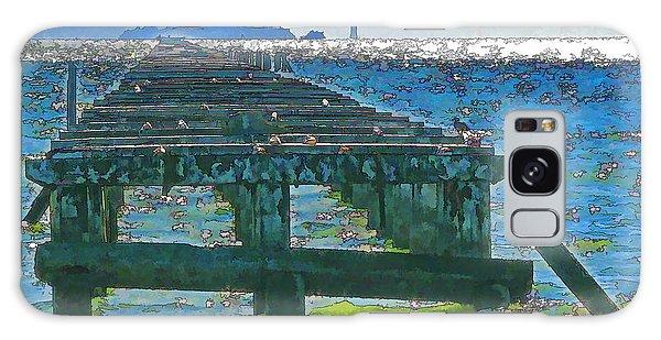 Berkeley Marina Pier Study 2 Galaxy Case