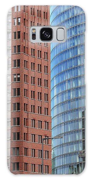 Berlin Buildings Detail Galaxy Case