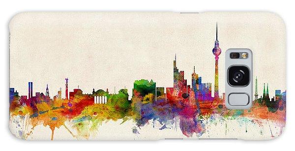 Berlin City Skyline Galaxy Case