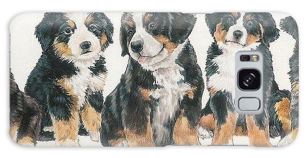 Bernese Mountain Dog Puppies Galaxy Case