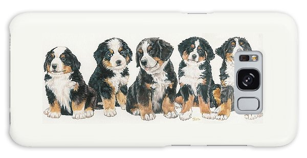 Bernese Mountain Dog Puppies Galaxy Case