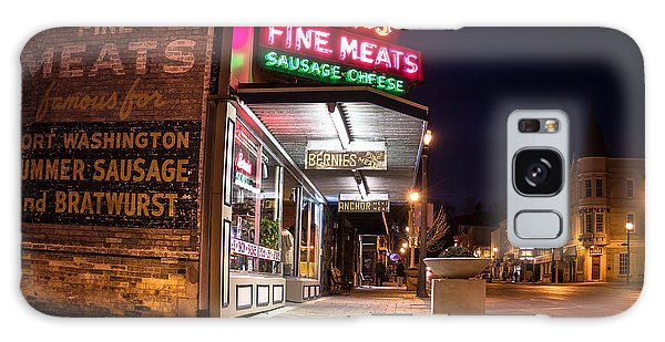 Bernies Fine Meats Signage Galaxy Case