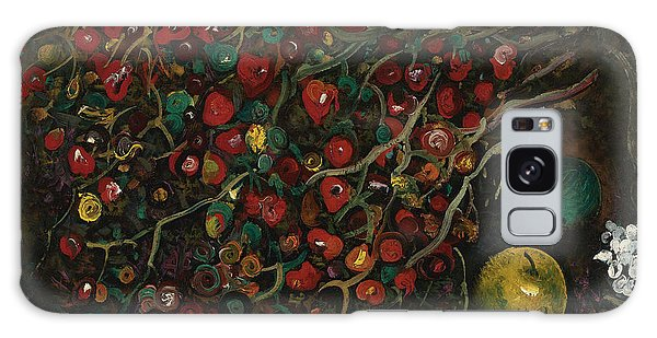 Russian Impressionism Galaxy Case - Berries And Apples by Celestial Images