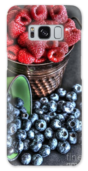 Berries Galaxy Case by Jimmy Ostgard