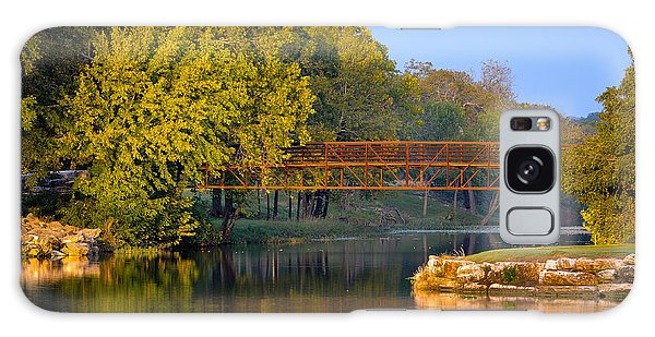Berry Creek Bridge Galaxy Case by John Johnson