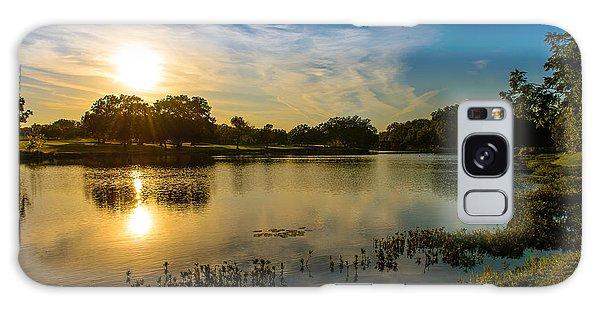 Berry Creek Pond Galaxy Case by John Johnson