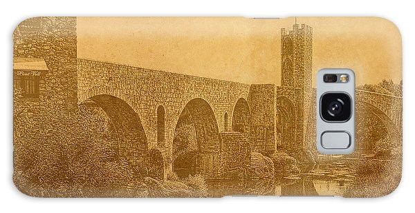 Besalu Bridge Galaxy Case
