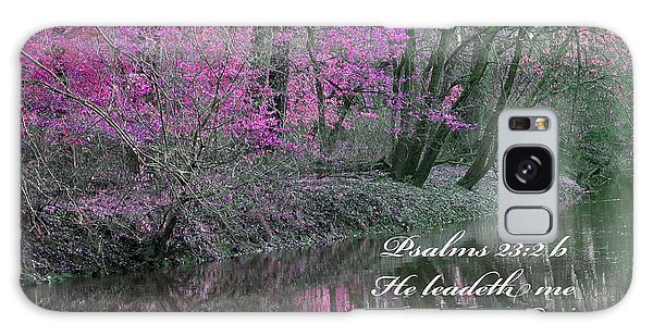 Beside Still Waters Galaxy Case by Lorna Rogers Photography