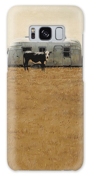 Bessie Wants To Travel Galaxy Case by Ron Crabb