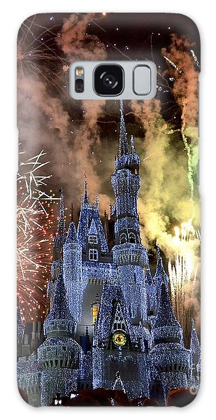 Christmas Wishes Galaxy Case by Carol  Bradley