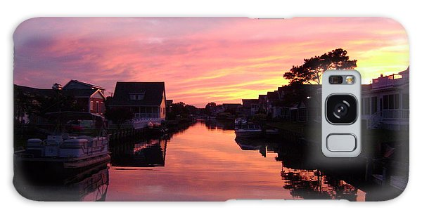 Bethany Beach Sunset Galaxy Case