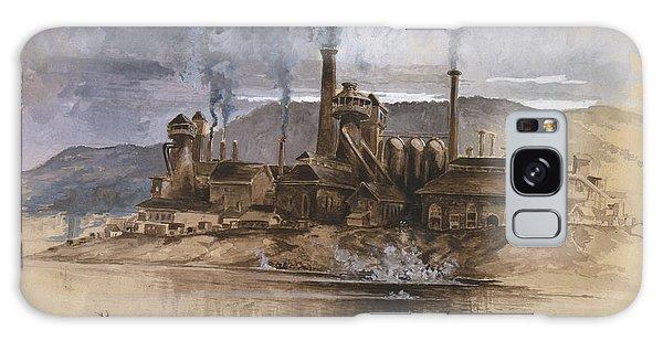 Bethlehem Galaxy Case - Bethlehem Steel Corporation Circa 1881 by Aged Pixel