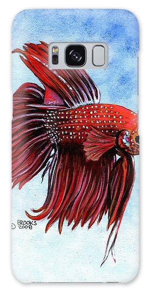 Betta-big Red Galaxy Case