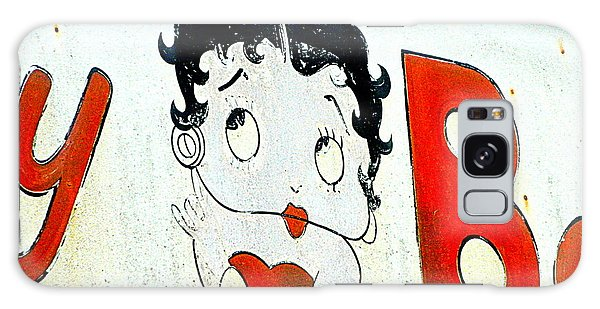 Betty Boop Herself Galaxy Case by Kathy Barney