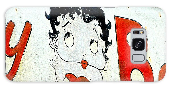 Betty Boop Herself Galaxy Case