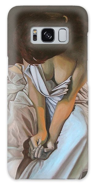 Between The Sheets Galaxy Case