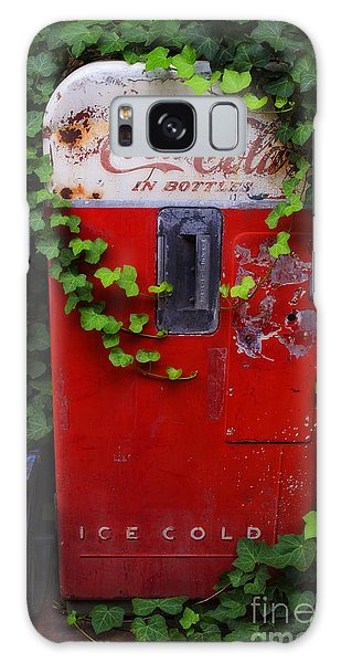 Austin Texas - Coca Cola Vending Machine - Luther Fine Art Galaxy Case