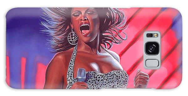 Record Galaxy Case - Beyonce by Paul Meijering